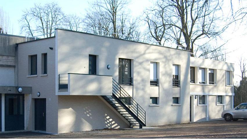 Salle des f tes malesherbes de maisons laffitte herv lebette architecte - Architecte maisons laffitte ...